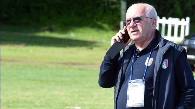 Carlo Tavecchio has come under fire for alleged racist comments