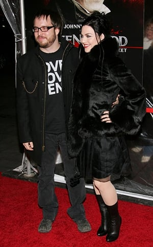 Evanescence singer Amy Lee and Josh Hartzler welcomed their first child.
