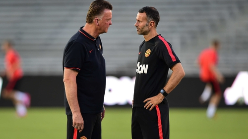 Louis Van Gaal and Ryan Giggs