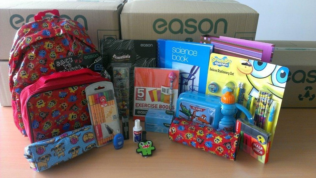 Two Eason hampers up for grabs!