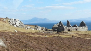 A view of Croagh Patrick taken from Currane, Achill, Co Mayo (Pic: Patricia Ryder)
