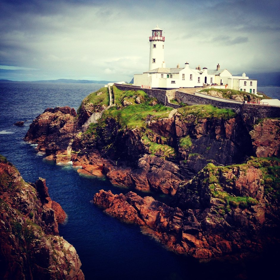 Fanad Head Lighthouse in Co Donegal (Pic: Anne-Lotte Paymans)