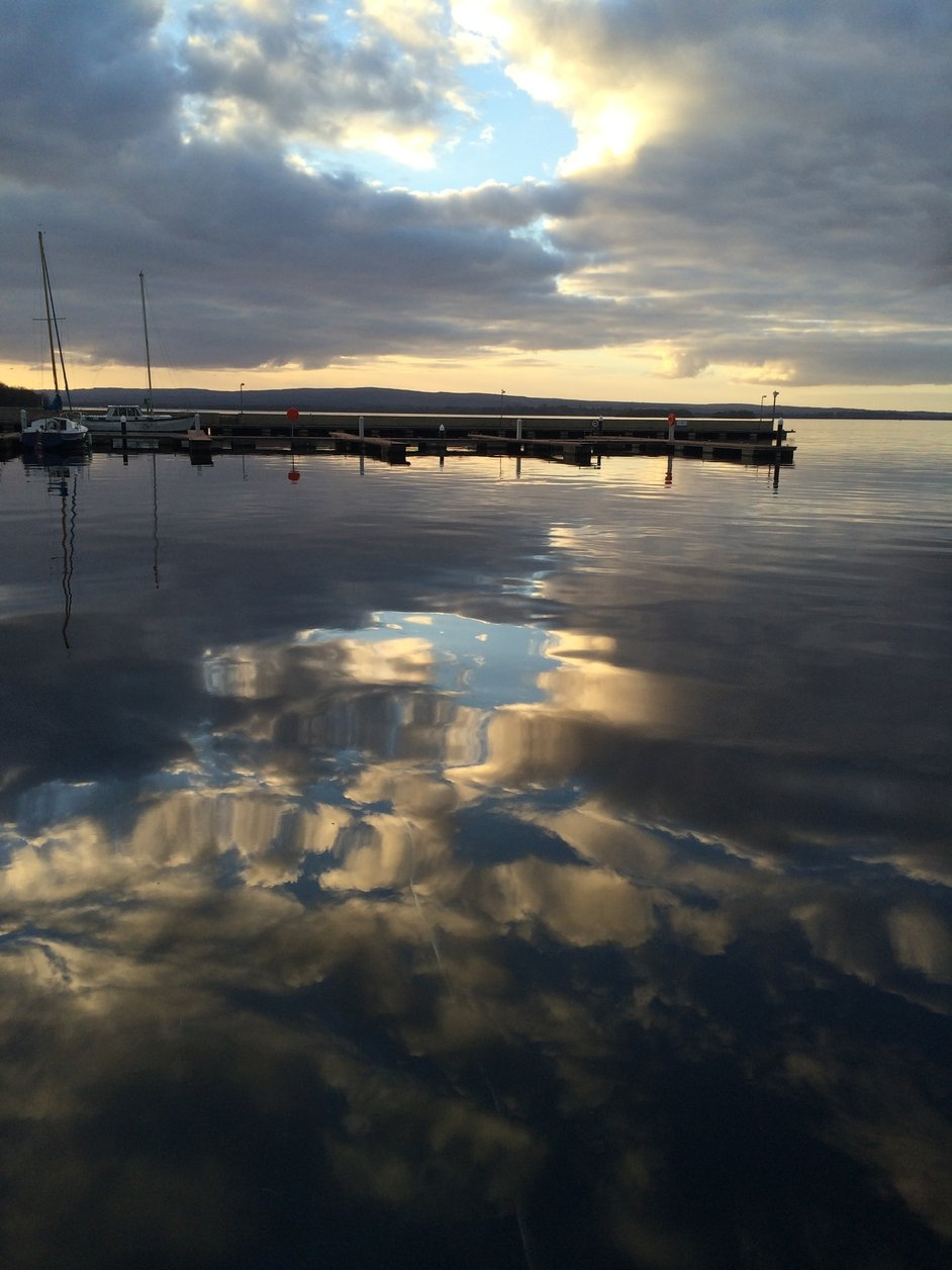 The harbour in Dromineer, Nenagh, Co Tipperary, looking onto Lough Derg (Pic: Shane Middleton)