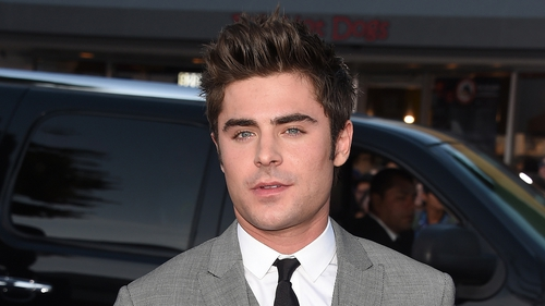 "Efron - ""You spend a lot of time in your house going crazy. You know, pretty soon you need a social lubricant"""