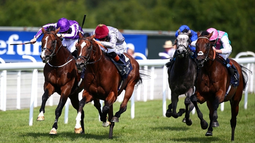 Kingman's Sussex Stakes sectionals (in seconds): 16.14, 14.53, 13.93, 13.00, 11.85, 11.12, 10.23, 10.73