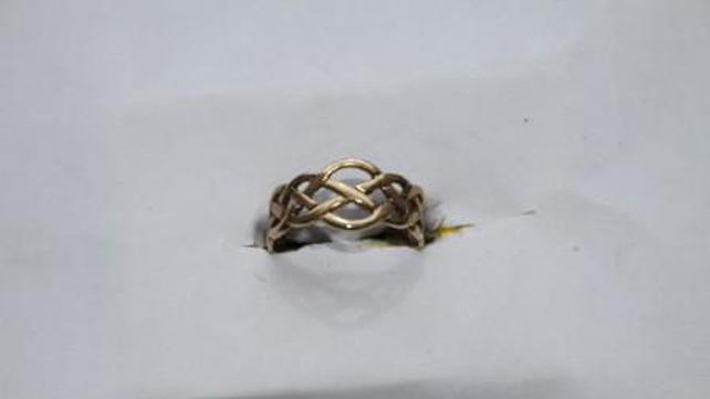 An assortment of jewellery was found after a car was stopped and searched in Rathcoole, Co Dublin