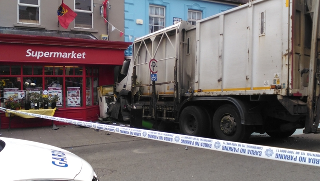 The crash happened in Dingle this afternoon (Pic: Marsha Ramroop)