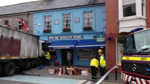 The front of The Woollen Shop was damaged in the incident (Pic: Marsha Ramroop)
