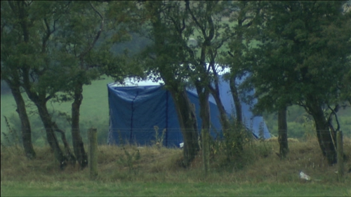 The man's body was found in a field near the Louth-Meath border