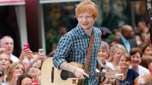 Wonder will Ed play a tune or two at the wedding?