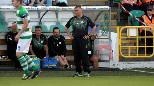 Trevor Croly parted company with Shamrock Rovers last week