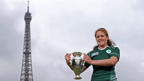 Fiona Coghlan said Ireland had set themselves a target of reaching the World Cup semi-finals