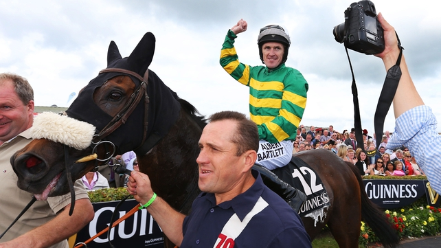 The victory was Tony McCoy's second success in the Galway Hurde