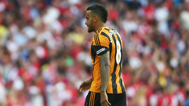 Tom Huddlestone's penalty was saved, while he missed the follow-up