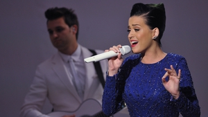 Katy Perry performing at the White House