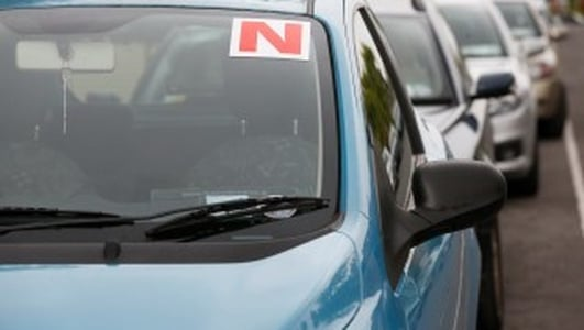 New 'N' plates for newly qualified motorists