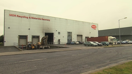 A forensic search of the recycling centre is set to continue for several days