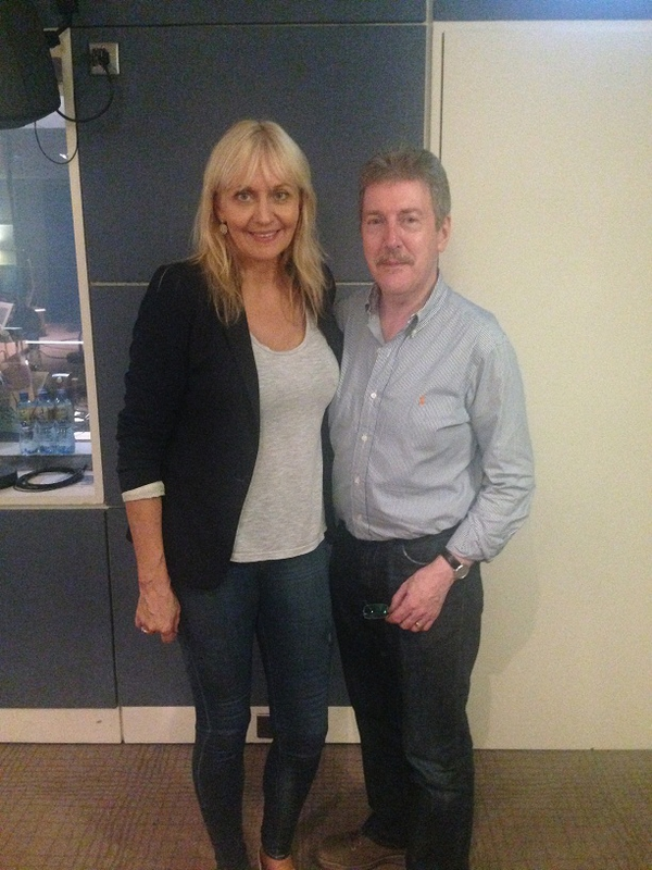 Miriam O'Callaghan and Stephen Travers