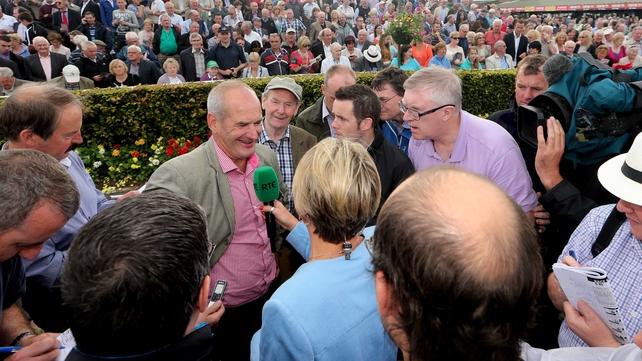 Tony Martin's winning run at Ballybrit continues