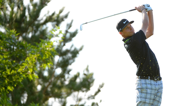 Nick Watney holds a three-stroke lead at the halfway point in Reno