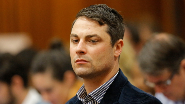 His family said Carl Pistorius was 'badly hurt' but 'out of danger'