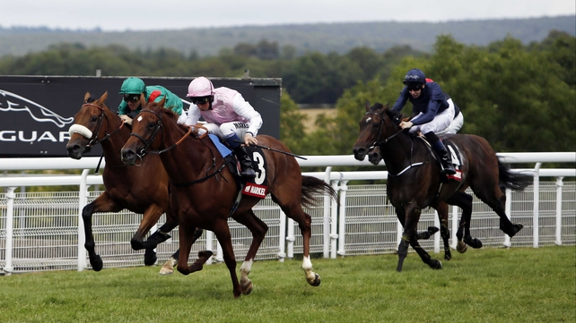 Sultanina gives John Gosden a third consecutive victory in the Nassau Stakes