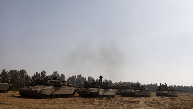 Egypt's President said the ceasefire plan he proposed offered the chance to end the Gaza conflict