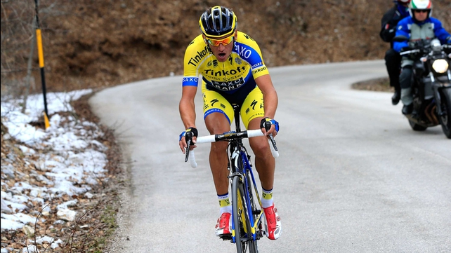 Roman Kreuziger joined Tinkoff-Saxo from Astana at the end of the 2012 season