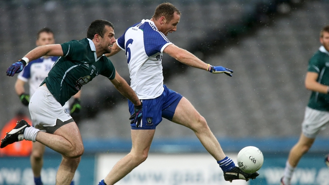 Vinny Corey fired home Monaghan's opening goal