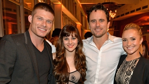 Nashville stars Chris Carmack, Aubrey Peeples, Charles Esten and Hayden Panettiere