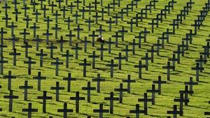 30,000 soldiers lost their lives in  fierce World War I battles around Hartmannswillerkopf
