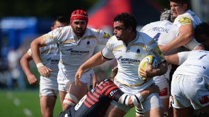 Argentina captain Agustin Creevy in action for his club Worcester