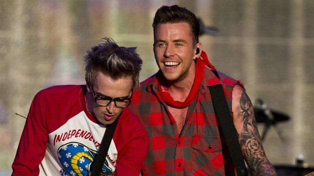 McBusted's Tom Fletcher and Danny Jones
