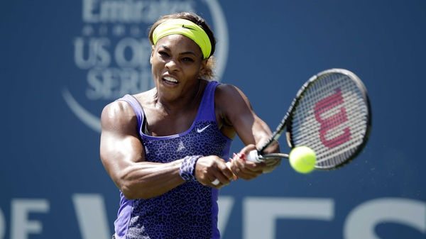 Serena Williams defeated Angelique Kerber 7-6 (7/1) 6-3