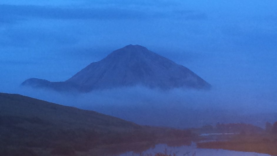 Mount Errigal in Co Donegal (Pic: Ronan Murphy)
