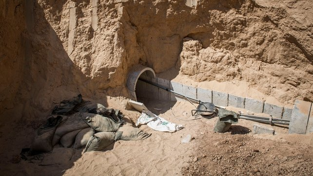 Israel is reported to have destroyed numerous Hamas tunnels