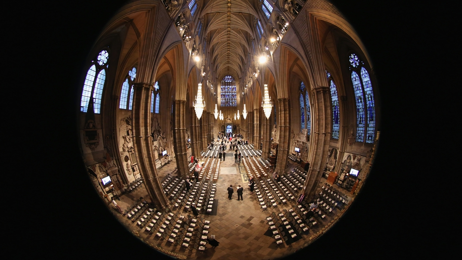 Grey's prophecy was also at the centre of a service in London's Westminster Abbey, where candles went out one by one