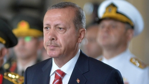 Turkish Prime Minister Tayyip Erdogan is a candidate in the presidential election on 10 August