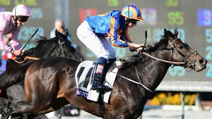 Magician proved his affinity for fast ground and tight turns when swooping late to win last season's Breeders' Cup Turf at Santa Anita