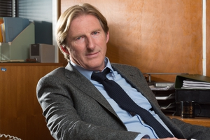 Adrian Dunbar plays the world-weary, mildly incompetent yet strangely inspired detective Walter Gambon in Walter on BBC One