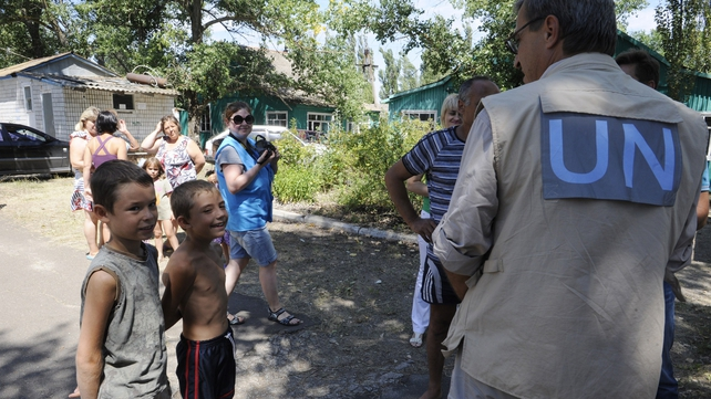 The UN has warned that intensified battles in eastern Ukraine could lead to a 'massive exodus'