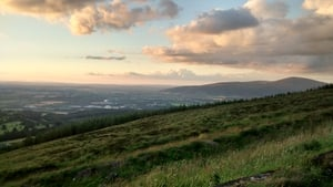 A general view overlooking Clonmel from the slopes of Slievenamon, Co Tipperary (Pic: Gev Barrett)