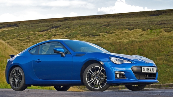 BRZ is the sister car of Toyota GT86