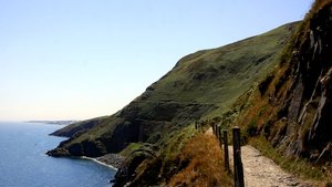 The walk from Bray to Greystones in Co Wicklow (Pic: Darragh Connolly)