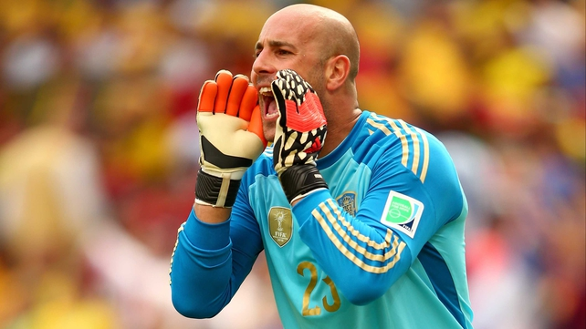 Pepe Reina was on loan at Napoli last season