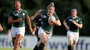 Alison Miller breaking clear to score