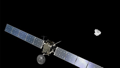Artist's impression of Rosetta spacecraft