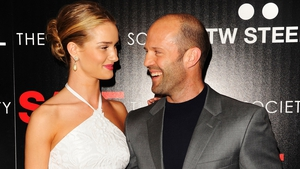 Keeping each other grounded - Rosie Huntington-Whiteley and Jason Statham