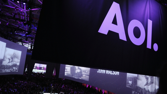 AOL saw its revenue from advertising increase by 20% during the quarter