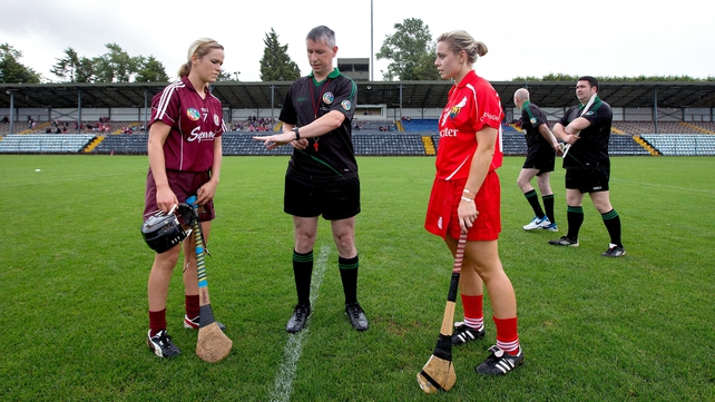 Anna Geary (right) believes that Offaly will offer her Cork side a stern challenge